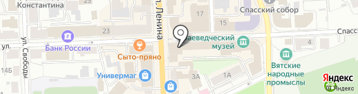 Almazov на карте Кирова