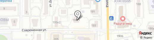 Альтаир на карте Кирова