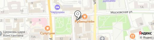 Климат43 на карте Кирова