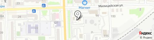 Фирма правовой помощи на карте Кирова
