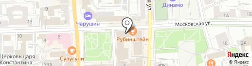 Слетать.ру на карте Кирова