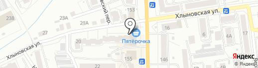 Кузьмич на карте Кирова