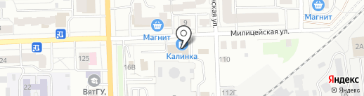 Вахтовый центр на карте Кирова