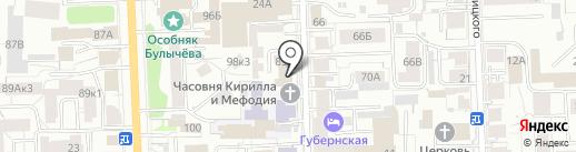 Рутмедиа на карте Кирова