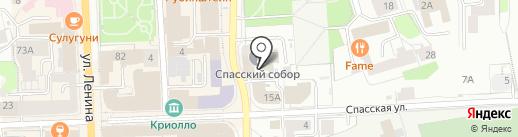 Спасский собор на карте Кирова