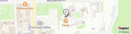 Вятка-Нефтепродукт на карте Кирова