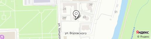 AUTOINLINE на карте Кирова