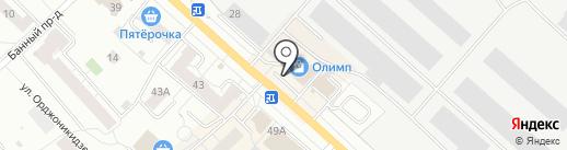 Шармэль на карте Кирова