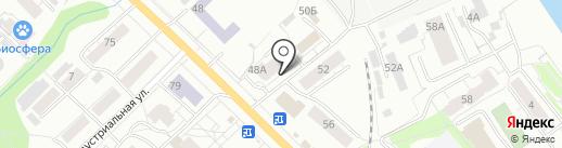 Седьмое небо на карте Кирова