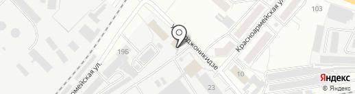 Уралочка на карте Кирова
