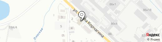 Ломбардъ на карте Кирова