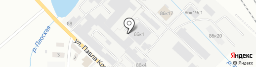 Обувное оборудование на карте Кирова