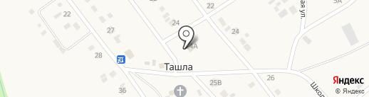 Почтовое отделение на карте Ташлы