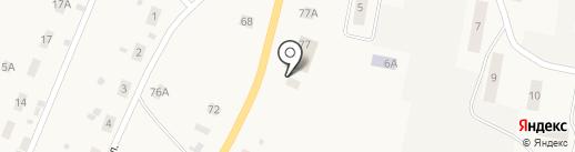 Кстининское, ПО на карте Кстинино