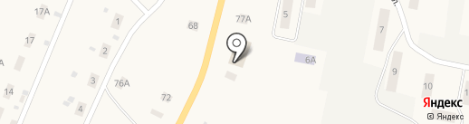 Продукты, магазин на карте Кстинино