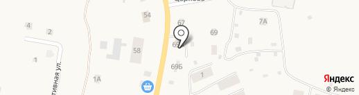 ТЦ Кстининский на карте Кстинино