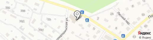 Банкомат, Сбербанк, ПАО на карте Порошино