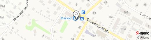 Удачный на карте Порошино