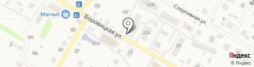 Почтовое отделение на карте Порошино