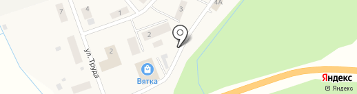Зоновский фельдшерско-акушерский пункт на карте Зонихи