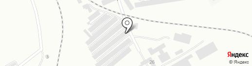 Гаражно-строительный кооператив №2 на карте Новокуйбышевска