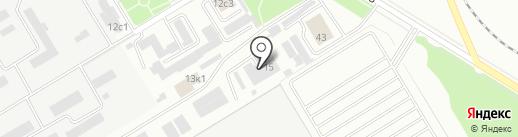 Поиск на карте Новокуйбышевска