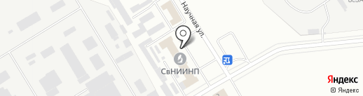 Средневолжский НИИ по нефтепереработке на карте Новокуйбышевска