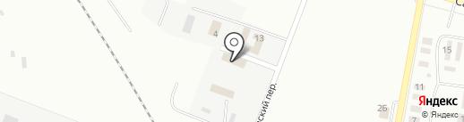 Новокуйбышевский психоневрологический диспансер на карте Новокуйбышевска