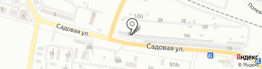 Автолайн на карте Новокуйбышевска