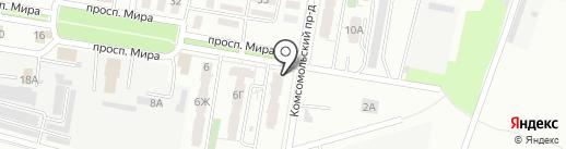 у Цветкова на карте Новокуйбышевска
