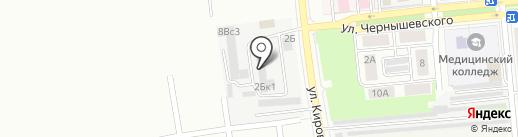 ПоСтроечка на карте Новокуйбышевска