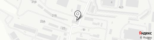 Штрафстоянка на карте Новокуйбышевска