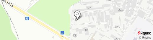 АЗС-М на карте Новокуйбышевска