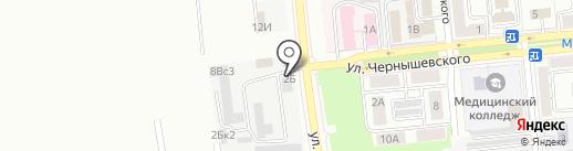 НСК на карте Новокуйбышевска