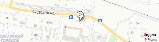 Моя на карте Новокуйбышевска