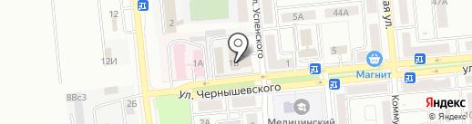 Новокуйбышевск-Волгоэлектромонтаж, ЗАО на карте Новокуйбышевска