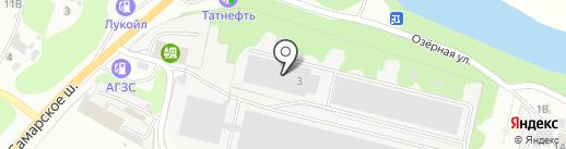 Галс на карте Новокуйбышевска