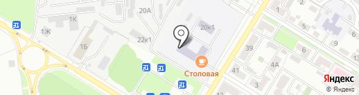 Столовая на карте Новокуйбышевска