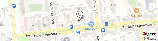 Центр социального обслуживания граждан пожилого возраста и инвалидов городского округа Новокуйбышевск на карте Новокуйбышевска