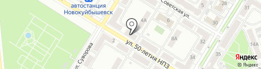 Моя неделя на карте Новокуйбышевска