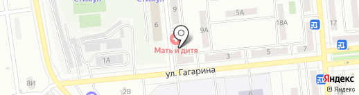 Оптика на карте Новокуйбышевска