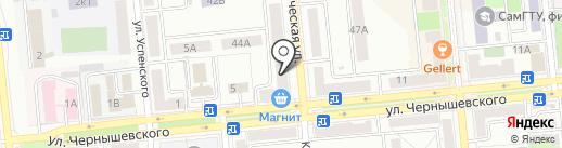 Diva на карте Новокуйбышевска