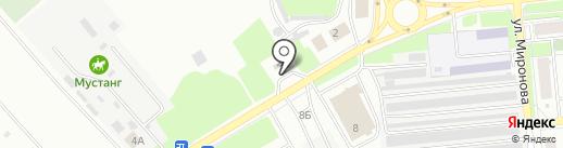 АЗС ДиОйл на карте Новокуйбышевска