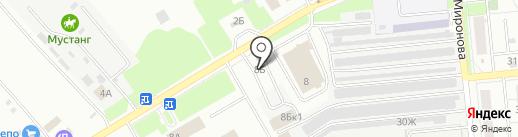 EXPRESS ШИНА на карте Новокуйбышевска