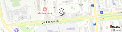 Город Н-СК 2000 на карте Новокуйбышевска