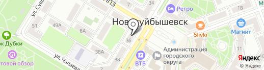 Мир белья и одежды на карте Новокуйбышевска