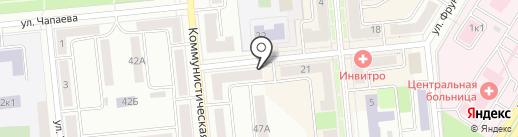 Росгосстрах, ПАО на карте Новокуйбышевска