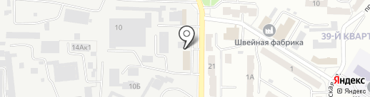 Ника, ТСЖ на карте Новокуйбышевска
