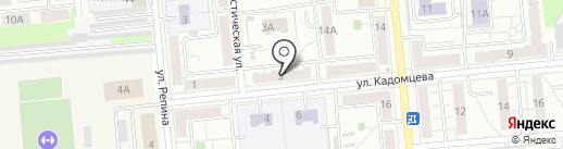 Слесарная мастерская на карте Новокуйбышевска