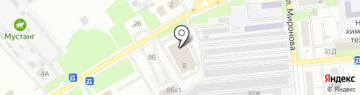 ПромМастер на карте Новокуйбышевска